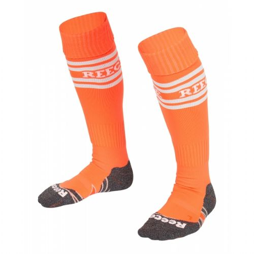 Reece College Socks Neon Orange Ladies